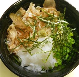 秋のぶっかけ素麺7