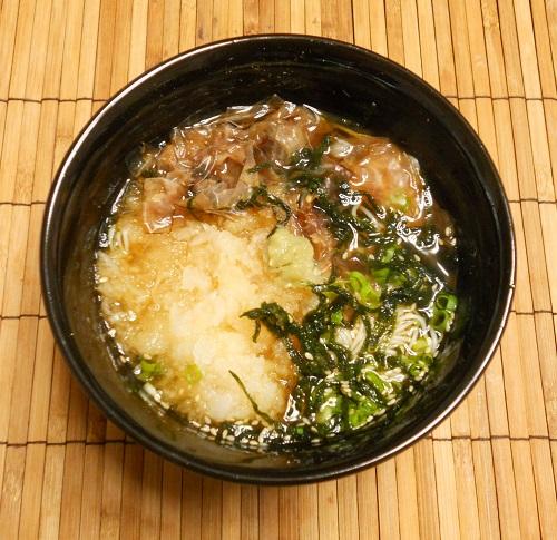 秋のぶっかけ素麺8
