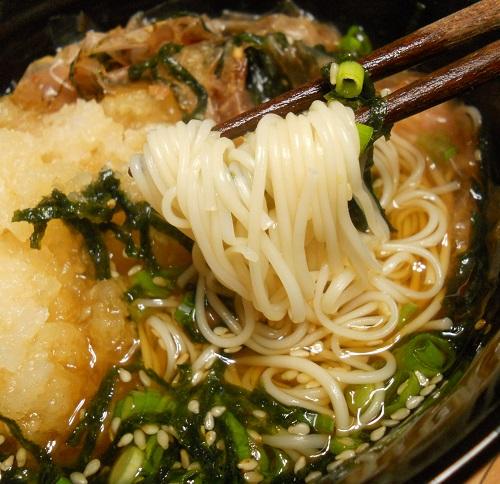 秋のぶっかけ素麺10