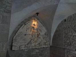 オベール司教の彫刻