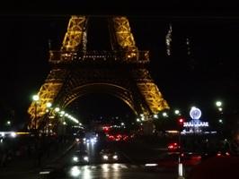 夜のエッフェル塔2