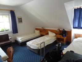 シュランネホテルの部屋の様子