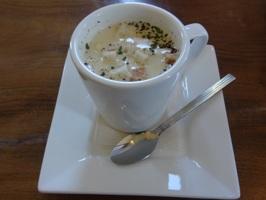 ロコモコランチのスープ