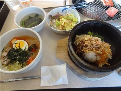 石焼ビビンバ&盛岡冷麺ランチ