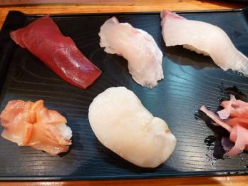 セットの寿司