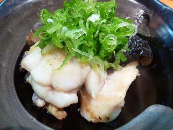 アンコウ醤油焼き