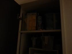 【DIYとインテリア生活】 照明のない納戸にライト設置♪IKEAの人感センサー付きLEDライト「OLEBY」活用!