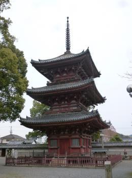 斑鳩寺三重塔