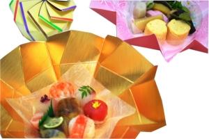 手まり寿司が可愛い