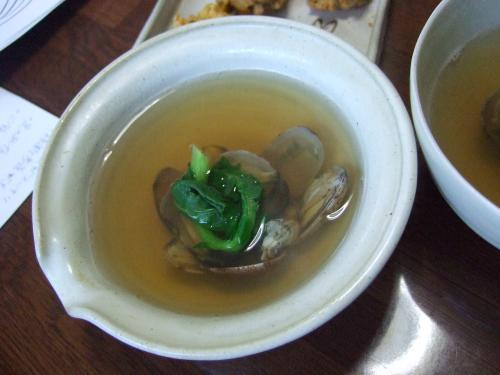 【縮小】あさりスープ