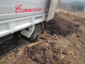 120409 トラックの堆肥 (2)