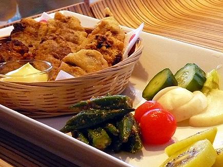 鮪のフリット朝食.jpg