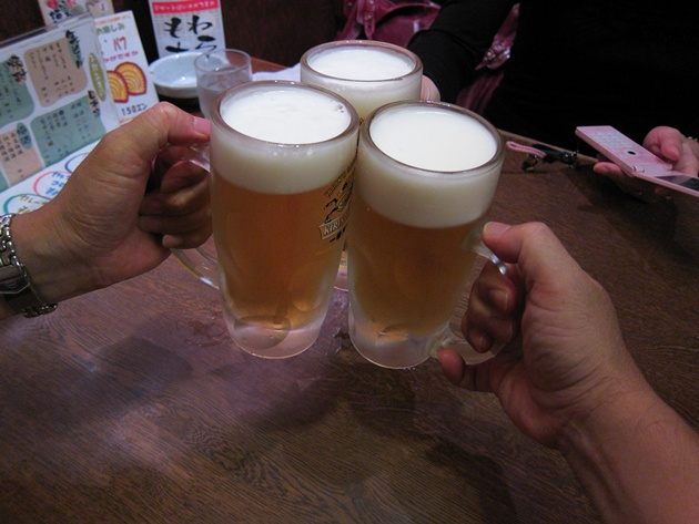 やとう 乾杯