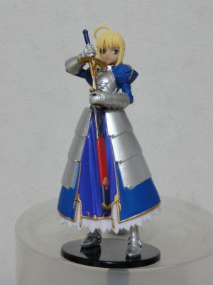 ヤングエース 2011年11月号 特別付録 「Fate Zero」フィギュア 正面