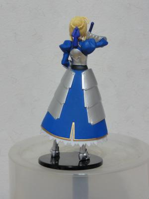 ヤングエース 2011年11月号 特別付録 「Fate Zero」フィギュア 裏面