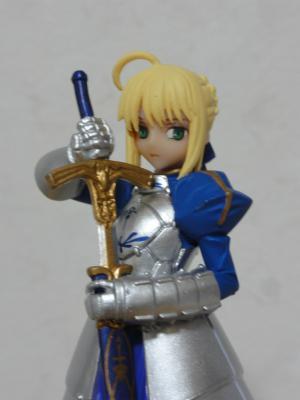 ヤングエース 2011年11月号 特別付録 「Fate Zero」フィギュア 正面アップ