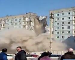 Мощный взрыв в Астрахани