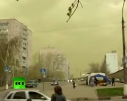 Huge green cloud over Moscow has terrified Russians tweeting for their lives over apocalypse fears