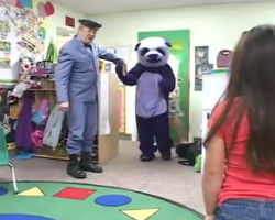 Mr. McFeely's Purple Panda Scares Bejesus Out of Kids