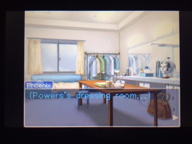 逆転裁判 北米版 パワーズ衣裳部屋2