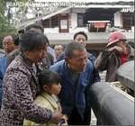 中国四川省地震