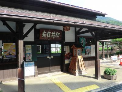 木曽奈良井宿駅