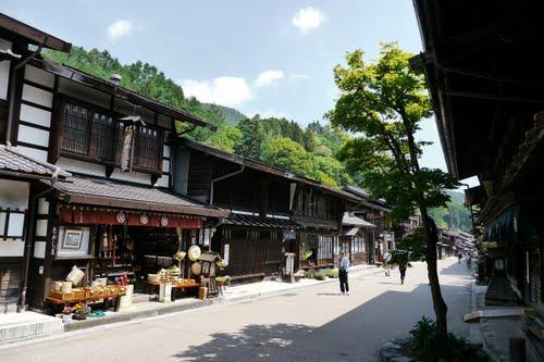 奈良井宿町