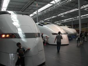 歴代新幹線