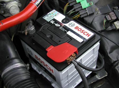 BOSCH SL-4P バッテリー交換