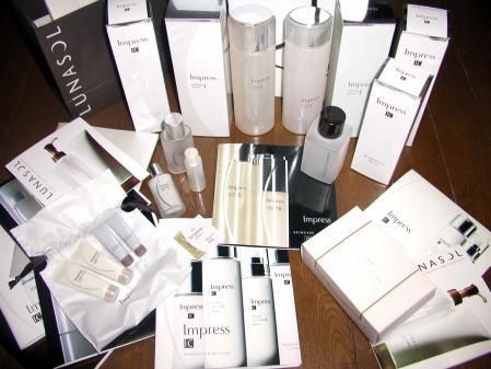カネボウ 化粧品 グランミュラ インプレス ルナソル フレッシェル ブランシール トワニー IC