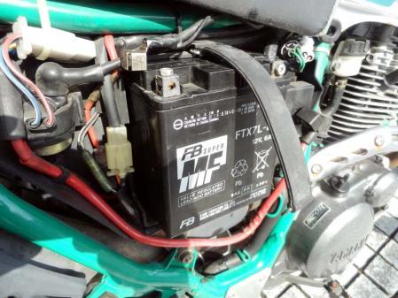 セロー225w バッテリー