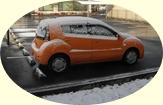 240219雪の日の愛車