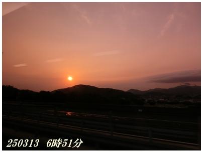 250313マレーシア旅たちの朝