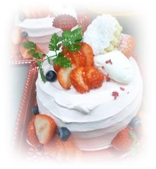 250512母の日ケーキ