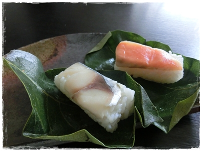 250628柿の葉寿司1