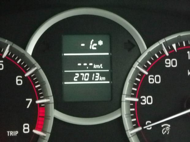 氷点下1度
