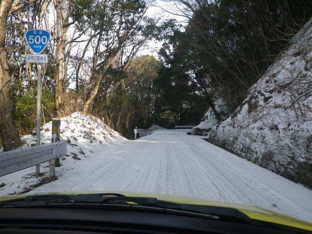 雪道を好き好んで走るお馬鹿な挑戦