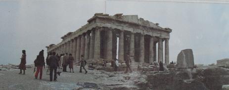 3 パルテノン神殿(ギリシャ)