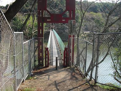 2 とっくり湖の吊橋