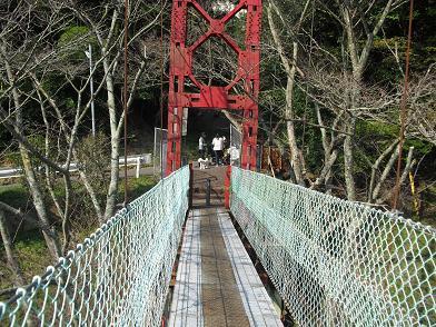 3 とっくり湖の吊橋