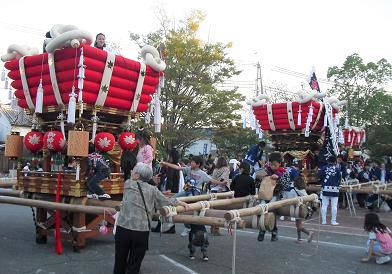 2 龍田大社・秋祭り