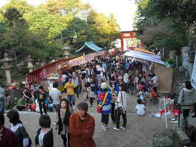 3 龍田大社・秋祭り