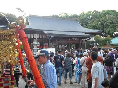 5 龍田大社・秋祭り