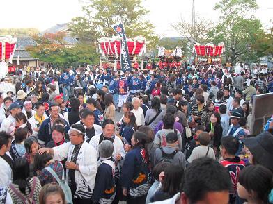 8 龍田大社・秋祭り・余韻