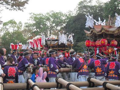 11 龍田大社・秋祭り・余韻
