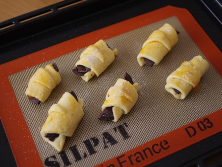 ホットケーキミックスで簡単チョコっとクロワッサン08