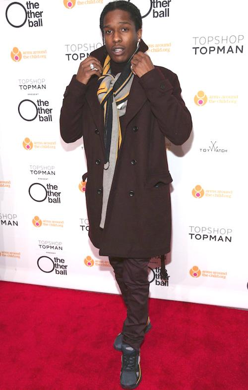 エイサップ・ロッキー(A$AP Rocky):トップショップ(TOPSHOP)
