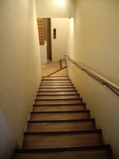 麺屋ばんどう 階段