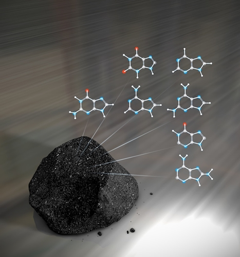 隕石と有機物