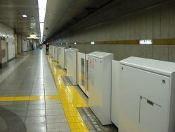 麹町駅1番線